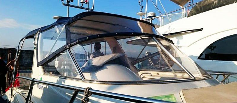 Bursa Pusula Tente Gemi, Yat, Tekne Brandası